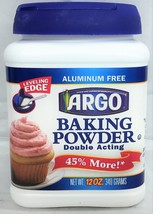 Argo Double Acting Baking Powder 12 oz - $4.94