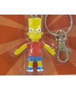 Bart Simpson Bendable Figure Keychain - New in Package - $5.99
