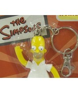 Homer Simpson Bendable Figure Keychain - New in Package  - $5.99
