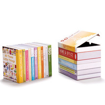 Peleg Design BooxStore Bookend Secret Home Offic Hiding Place set 2 Desi... - $23.00