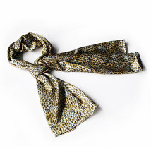 Tangerine Elegant Leopard Print Comfy Silky Scarf(Large) - $16.99