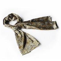 Tangerine Elegant Leopard Print Comfy Silky Scarf(Small) - $14.99
