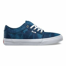 VANS Chukka Low (Cyclone) Navy STV/Navy Men's Skate Shoes - $42.95