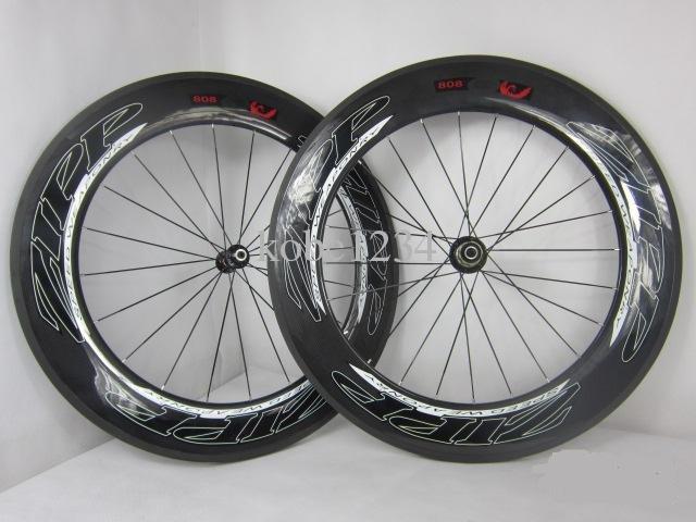 ZIPP 808 T-90 Tubular Full Carbon Wheelset Campagnolo Novatec 291 hub flat spoke - $799.99