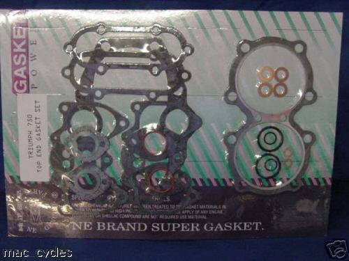 Triumph 750 1973-1980 Top end Gasket set New