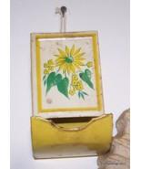 Antique Hanging Metal/Tin Match Box Holder Lot ... - $45.00