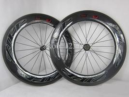 ZIPP 808 T90 Clincher Full Carbon Wheelset Campagnolo Novatec 291 hub flat spoke - $799.99