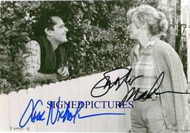 JACK NICHOLSON & SHIRLEY MacLAINE SIGNED RP PHOTO TERMS - $13.99