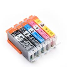 Compatible Ink Cartridge PGI650 CLI651 5PK For PIXMA - $31.77