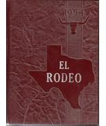 Big Spring, Texas High School Yearbook, 1954 El Rodeo - $27.26