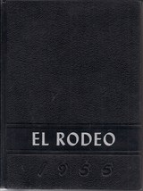Big Spring, Texas High School Yearbook, 1955 El Rodeo - $27.26
