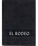 Big Spring, Texas High School Yearbook, 1955 El Rodeo - $27.26