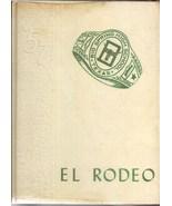 Big Spring, Texas High School Yearbook, 1957 El Rodeo - $27.26