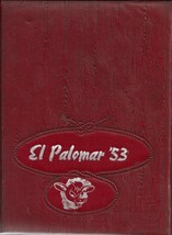 Big Spring, Texas Junior High School Yearbook, 1953 El Palomar - $27.26