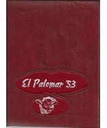 Big Spring, Texas Junior High School Yearbook, 1953 El Palomar - $27.26