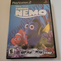 Finding Nemo (Sony PlayStation 2, 2003) Complete Tested Working PS2 Manual - $8.59