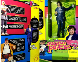 RARE SPECIAL EDITION 9 INCH AUSTIN POWERS McFARLANE TOYS FIGURE SEALED BOX - $39.59