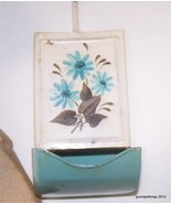 Antique Hanging Metal/Tin Match Box Holder Lot ... - $45.00