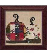 Bittersweet Pumpkins ATH1018 button pack + Art To Heart cross stitch chart JABC - $16.20