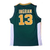 Brandon Ingram #13 Kinston High School Basketball Jerseys All Stitched - $33.00+