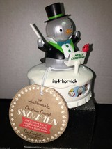 Hallmark 2014 Christmas Concert Snowmen The Conductor New With Tags - $99.99