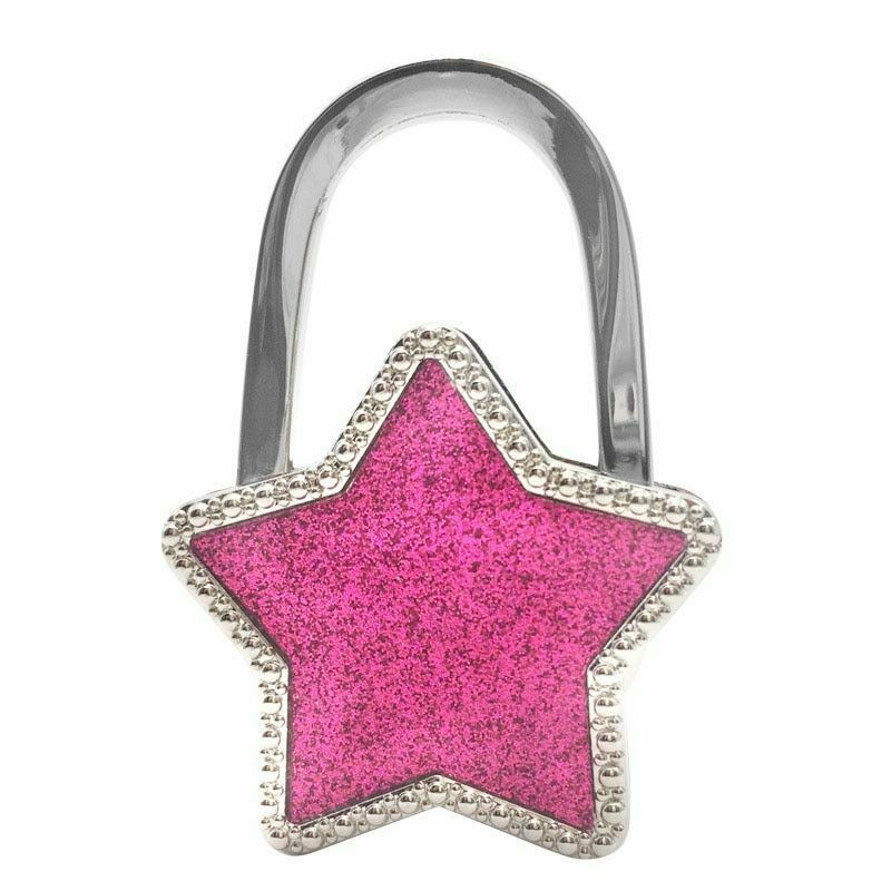 Primary image for Handbag Hook Non Slip Alloy Stars Purse Holder Office Desk Table Bag Hanger Tool