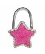 Handbag Hook Non Slip Alloy Stars Purse Holder Office Desk Table Bag Han... - £4.81 GBP