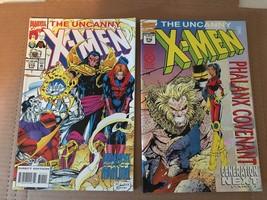 UNCANNY X-MEN #315 & 316 Marvel Comic Book Lot 1994 NM Condition - $4.49