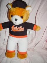 Steven Smith/ Sports Enterprises Baltimore Orioles Stuff Plush Bear Play... - $9.00