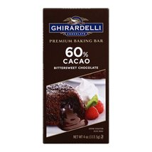 Ghirardelli Premium Baking Bar - 60% Cacao Bittersweet Chocolate - Case of 12 -  - $50.99
