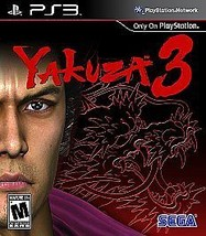 Yakuza 3 (Sony PlayStation 3, 2010) BRAND NEW SEALED - $55.99