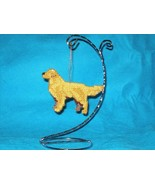 Golden Retriever ornament decor handmade dog ar... - $26.00