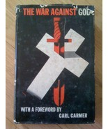The War Against God Hardback Book with Dustjacket 1943 Foreword by Carl ... - $12.99