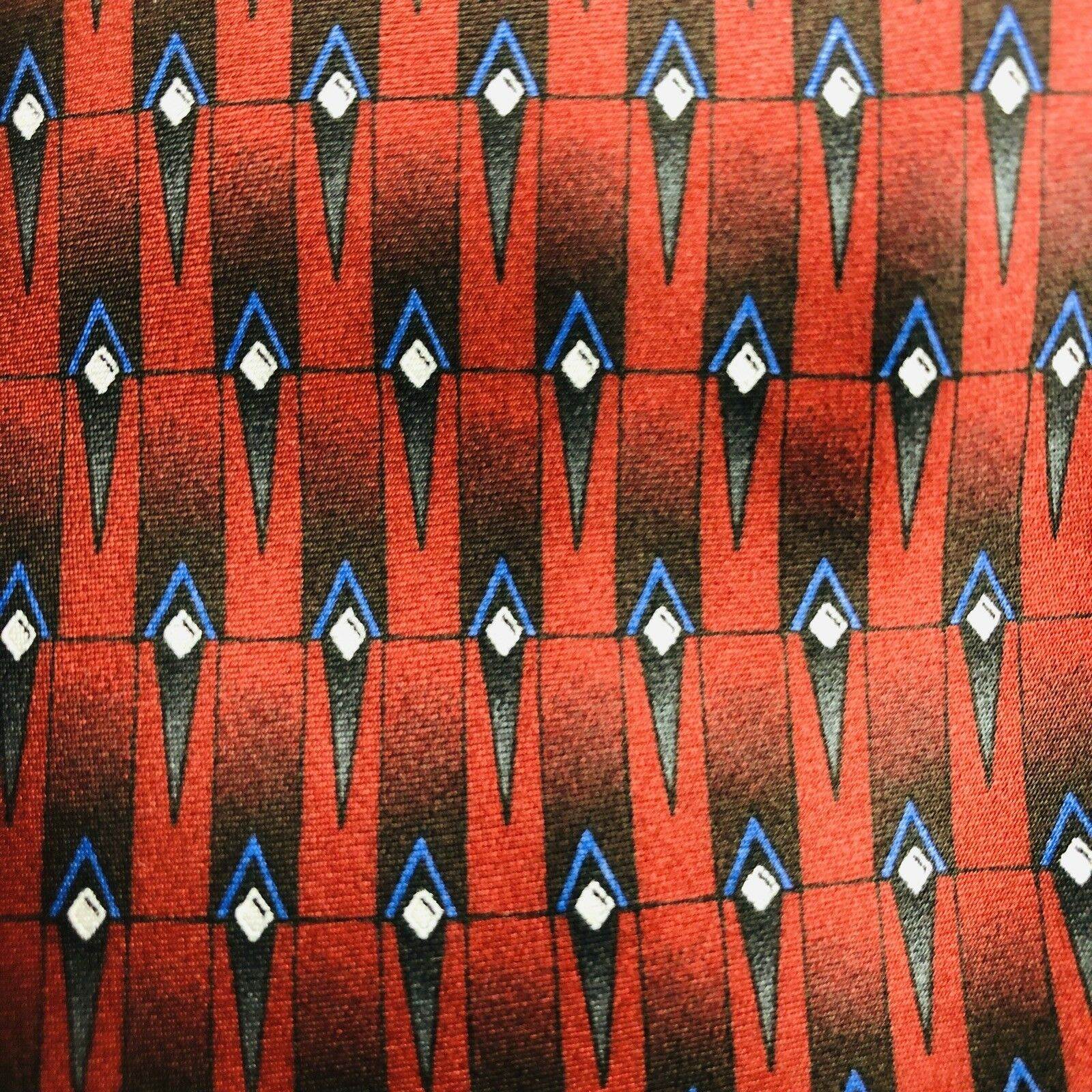 Ziggurat Men's Neck Tie By Mulberry Neckwear Burgundy 59 x 4 Silk Hand Made