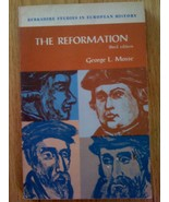 THE REFORMATION by GEORGE L. MOSSE 3rd Edition Berkshire Studies In Euro... - $6.99