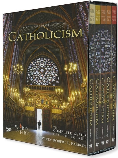 Catholicism  dvd box set journey around the world and deep into faith with bishop robert barron