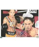 MANNY PACMAN PACQUIAO SIGNED AUTOGRAPHED RP PHOTO - $18.99