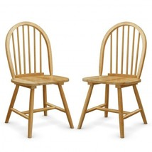 Set of 2 Vintage Windsor Wood Chair with Spindle Back for Dining Room - ... - $197.42