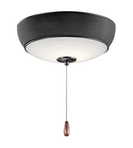 Kichler 380950SBK Signature Fan Accessory 13in Satin Black Steel 1-light - $274.95