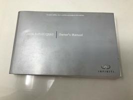 2014 Infiniti QX60 Owners Manual Handbook OEM Z0K01 - $38.39