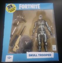 """FORTNITE SKULL TROOPER 7"""" ACTION FIGURE MCFARLANE TOYS NEW - 22 MOVING P... - $34.58"""
