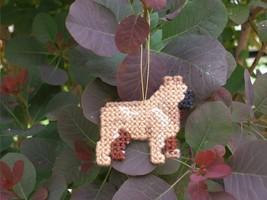French Bulldog ornament decor handmade dog art for everyday display or C... - $19.00