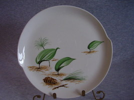 WS George Forest Floor Pine Cone Dinner Plate B - $7.00
