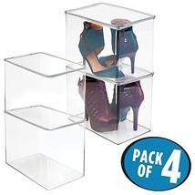 mDesign Closet Storage Organizer Heels - $80.99