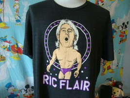 Ric Flair Wrestling Homage Retro Caricature T Shirt XL  - $24.74