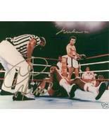 MUHAMMAD ALI AND GEORGE FOREMAN SIGNED AUTOGRAPH BOXING GREATEST 8X10 RP... - $17.99