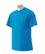 Heather Saphire 5XL Gildan G2000 Ultra Cotton Blend G200 T-shirt - $6.95