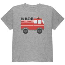 Big Brother Fire Truck Youth T Shirt - $16.95