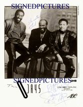 THE O'JAYS SIGNED 8x10 RP PROMO PHOTO OJAYS  LOVE TRAIN - $15.29