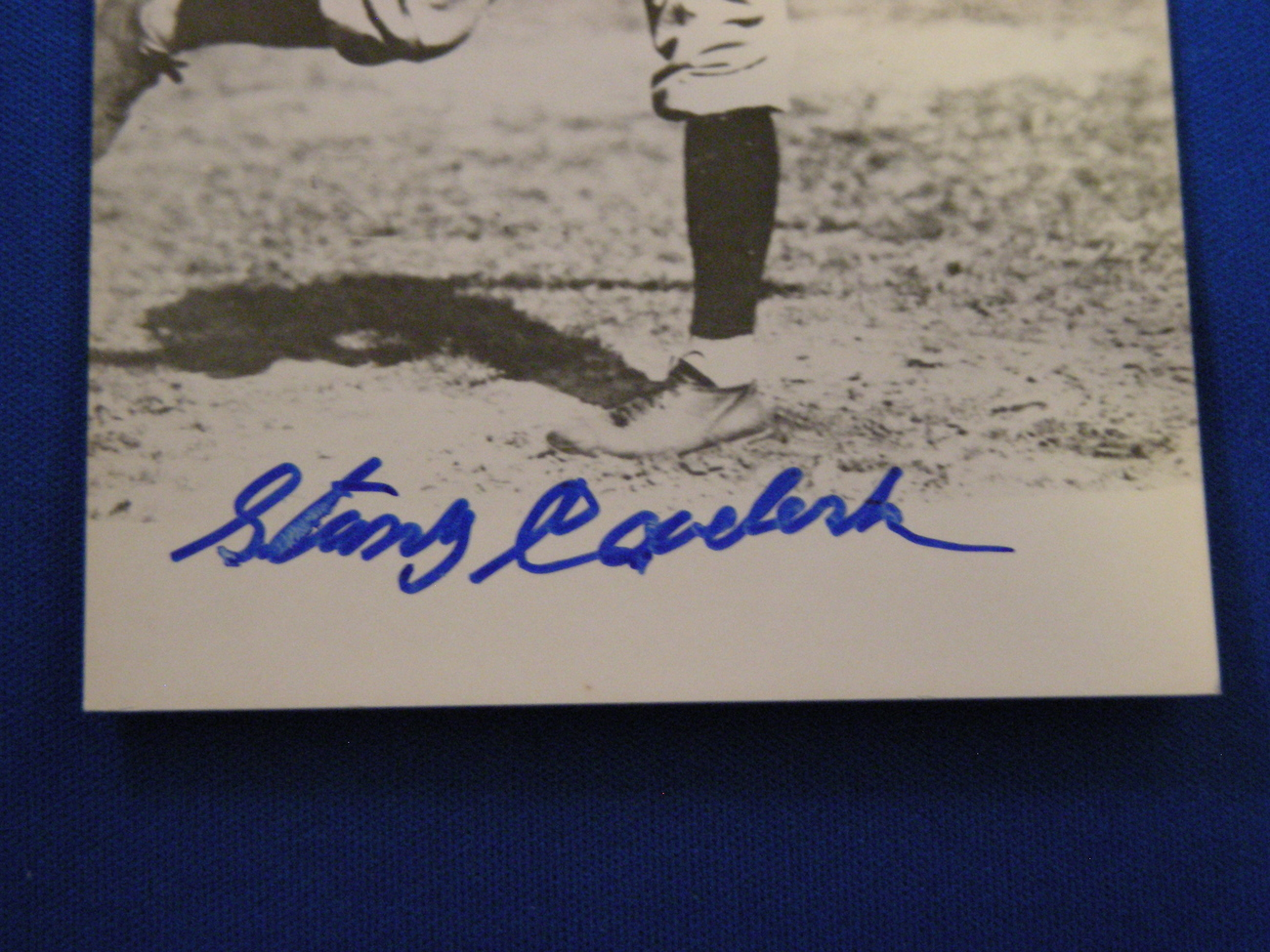 STAN COVELESKI HOF 1969 PITCHING GREAT INDIANS YANKEES SIGNED AUTO 8X10 GLOBAL